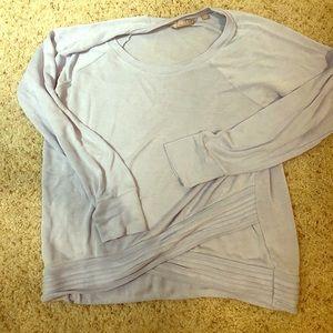 ATHLETA: criss cross sweatshirt (M) worn twice!